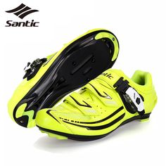 PRO SANTIC Road Bike Shoes Ladies Micro Fiber Bicycle Cycling Shoes 2017 Women Riding Athletic Self-Locking Shoes chaussure velo