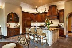 Twist Barstools by Ebanista in a kitchen designed by Jordan Design Studio