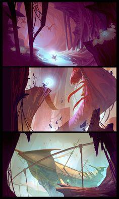 ratchet and clank Environment Concept, Environment Design, Illustrations, Illustration Art, Color Script, Animation Background, Layout, Visual Development, Environmental Art
