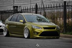 Heavy modified ford focus mk2 ST