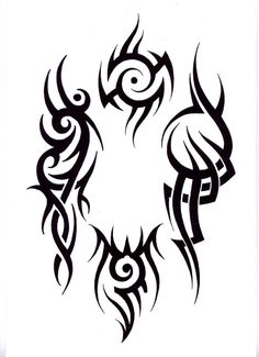 Tribal tattoo designs on arm-802