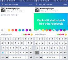 Como escrever um status colorido no Facebook? #baixarfacebook , #facebook , #facebookbaixar : http://www.facebookbaixargratis.com.br/