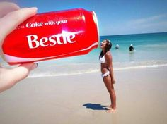 Beach pictures with coke Best Friend Pictures, Bff Pictures, Friend Photos, Summer Pictures, Funny Beach Pictures, Friendship Pictures, Bff Pics, Summer Pics, Cool Pictures
