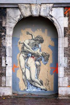 Graffiti by Zilda - Street Art in Paris - Photo by Lionel Belluteau - https://www.flickr.com/photos/yoyolabellut/4085968860/in/photostream/