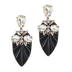 Resin arrowhead earrings