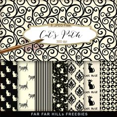 Click HERE to download New Freebies Kit of Paper - Cat's Path . And ...