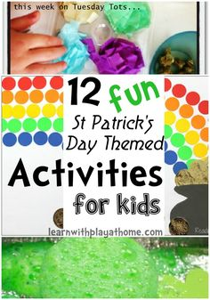 Learn with Play at Home: 12 Fun St Patrick's Day Activities
