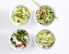 Unser beliebtes Rezept für Kartoffelsalat mit Lauchzwiebel, Radieschen, Kerbel und Pflücksalat und mehr als 55.000 weitere kostenlose Rezepte auf LECKER.de.