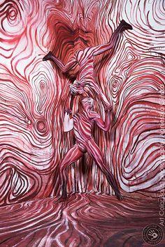 Art Color Ballet  photography: Agnieszka Glinska bodypainting:Joanna Laksa www.baletcolor.pl
