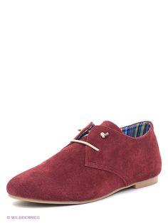 Туфли Nexpero. Цвет бордовый.
