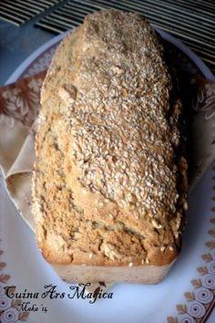 pan trigo sarraceno y centeno III Más Biscuit Bread, Pan Bread, Baby Food Recipes, Bread Recipes, Vegan Recipes, Bread Without Sugar, Vegetarian Times, Sin Gluten, Deli