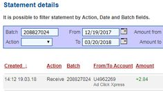 Here is my Withdrawal Proof from AdClickXpress.  I make extra money from home, get paid daily and I can withdraw daily. Online income is possible with ACX, who is definitely paying – no scam here. #makemoneyonline #makeextramoney #makemoneyhavingfun