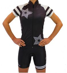 Supernova Women's Cycling Kit from Coeur Sports Women's Cycling Jersey, Cycling Jerseys, Womens Cycling Kit, Padded Cycling Shorts, Bmx Bicycle, Cycling Outfit, Cycling Clothing, Bicycle Design, Outdoor Woman