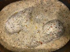 Crock Pot Garlic Parmesan Chicken Pasta  GF &Keto Crockpots&FlipFlops Chicken Parmesan Pasta, Garlic Butter Chicken, Cream Cheese Chicken, Chicken Pasta Recipes, Garlic Parmesan Sauce, 5 Ingredient Dinners, Low Carb Sauces, Cheesy Sauce, Food Allergies