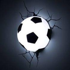 Sports 3D Wall Nightlight - Soccer