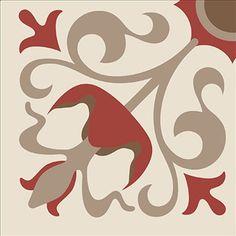 Vinil Adesivo Azulejo Decorativo e Parede VAXV-036 - Litoarte - PalacioDaArte Stencil Patterns, Tile Patterns, Print Patterns, Arte Bar, Turkish Pattern, Crochet Carpet, Islamic Patterns, Tile Projects, Mirror Mosaic