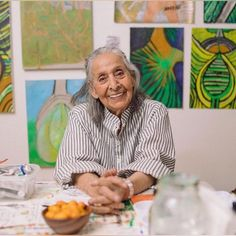 "One of the most inspirational stories for me from the wonderful world of art is that of Venezuelan born artist, Luchita Hurtado. . Luchita had her first solo art exhibition at the age of 98 last year at Hauser & Wirth, New York followed by the  Serpentine Gallery, London. Her show ""I live, I die, I will be reborn"" covered a career spanning an astonishing 80 years, with work across paintings, prints and drawings. . Although her network of close friends and family was full of internationally…"