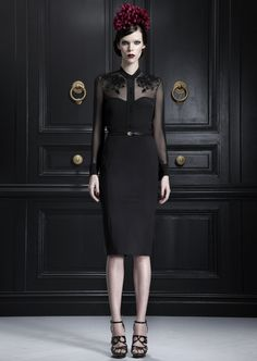 """A little noire... Jason Wu Pre-Fall 2013. Glorya, """"Wonderful, this is doing black in a different delightful way."""""""