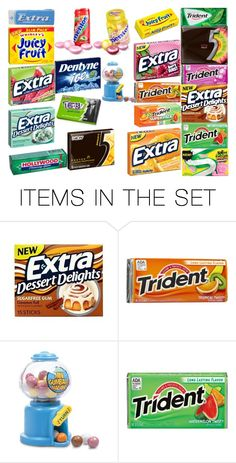"""""""different chewing gum"""" by kellyaykut13 ❤ liked on Polyvore featuring art"""
