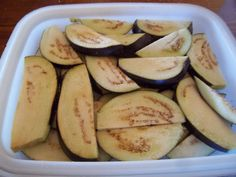 How to preserve eggplant.  Eco Footprint ~ South Africa: Excess harvest