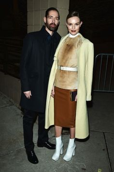 Michael Polish and Kate Bosworth (wearing Pre-Fall 2013 Calvin Klein) at the Big Sur premiere in Park City, UT