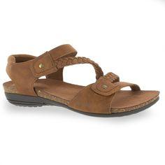 Easy Street Zone Women's Sandals, Dark Brown #WomensSandals