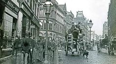 Lord Street looking towards Church Street 1890 Liverpool England, Liverpool Town, Liverpool History, Old Pictures, Old Photos, Victorian Photography, Victorian Life, Croydon, Southport