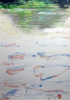 https://www.facebook.com/sahong.gum For-River,Green,White 강을 위한 습작, 금사홍