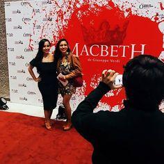 Gracias por acompañarnos a otra noche de ópera! #Macbeth