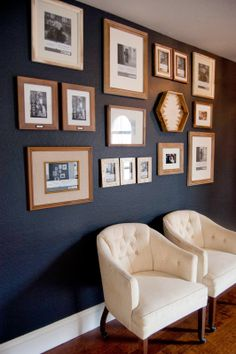 551 east : chimney smoke paint and a gallery wall