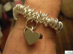 Chunky Heart Charm Bracelet – Sandra Lynn Designs