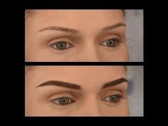 Video #1 (part1) - Makeup Transformation - Conturare Sprancene Perfecte ...