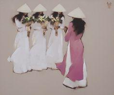 artnet Galleries: Teacher's Day by Nguyen Thanh Binh from Arch Angel Art