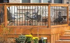 Garde-corps à balustres ronds en aluminium de VERANDA, 6 pi de Home Depot 10,02 $ (4% de rabais) -