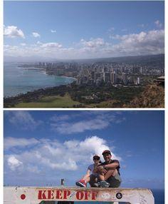 Being a tourist #diamondhead #Waikiki #honolulu #hawaii #hiking #clouds #cloudporn #ocean #surf #hotels #airport #ハワイ  #ホノルル #ダイアモンドヘッド #山 #ハイキング #オアフ #アロハ #sky #nature #view #sundayfunday #sunday #breakingthelaw #igers #pals #weekend #nofilterneeded #alo