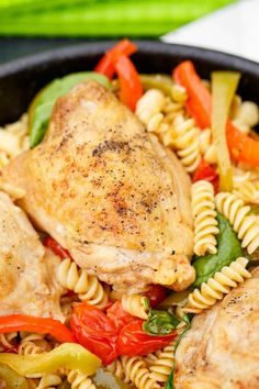 A one pan chicken pasta on the BBQ recipe using Barilla's Pronto products. No more waiting for pasta water to boil! Barbecue Recipes, Grilling Recipes, Cooking Recipes, Grilling Ideas, Best Chicken Recipes, Pasta Recipes, Rice Recipes, Skillet Recipes, Healthy Chicken