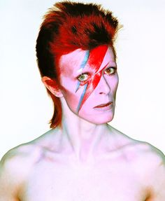 David Bowie photographed by Brian Duffy. Airbrush by Philip Castle.
