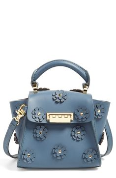 ZAC Zac Posen  Mini Eartha  Embellished Leather Top Handle Satchel  available at  Nordstrom da2250014ad14
