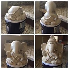 Yesterday we celebrated Ganesh Chaturthi – one of the most important and biggest festivals celebrated in honour of Lord Ganesha (the God with the head of an elephant). I can't wait to s… Lord Ganesha, Clay Ganesha, Ganesha Painting, Ganesha Art, Ganesha Drawing, Ganesh Statue, Ganapati Decoration, Decoration For Ganpati, Clay Art Projects