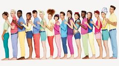 United Colors of Benetton. When I was a kid, these kinds of ads always attracted my attention. :) <3