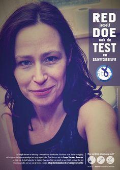 Stop Darmkanker - Stop Colon Cancer. Freya Van den Bossche. Save yourself with a #saveyourselfie