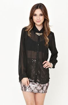 Sparkle Studded Shirt Studded Shirt, Income Tax, Pacsun, Girly Girl, Kicks, Sparkle, Rompers, My Style, How To Wear
