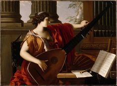 Laurent de La Hyre (French, 1606–1656). Allegory of Music, 1649. The Metropolitan Museum of Art, New York.