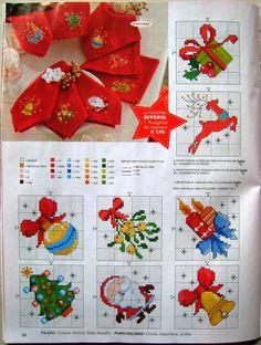 Cross Stitch Christmas Cards, Xmas Cross Stitch, Cross Stitch Cards, Christmas Cross, Counted Cross Stitch Patterns, Cross Stitch Designs, Cross Stitching, Cross Stitch Embroidery, Plastic Canvas Ornaments