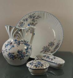 Wash basin, white porcelain, 4-piece