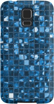 Sparkling Blue Mosaic Pattern   Snap Cases, Tough Cases, & Skins for iPhones 4s/4 5c/5s/5 6/6Plus & Samsung S3/S4/S5 Galaxy Phones. **All designs available for all models.