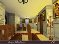 evi's Sims 4 Downloads Byzantine Icons, Sims Community, Electronic Art, City Living, 13 Year Olds, White Walls, Sims 4, Improve Yourself, Have Fun
