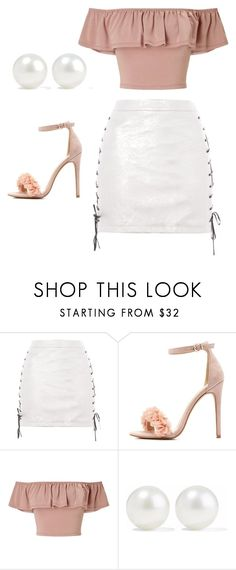 """Untitled #78"" by kacis-kacis on Polyvore featuring beauty, Topshop, Charlotte Russe, Miss Selfridge and Kenneth Jay Lane"