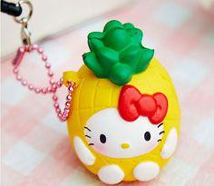 sillysquishies.com - Hello Kitty as a Pineapple *Rare* Scented*, $12.99 (http://www.sillysquishies.com/hello-kitty-as-a-pineapple-rare-scented/)