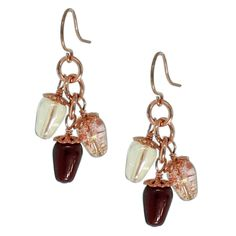 Rusty Earrings   Fusion Beads Inspiration Gallery